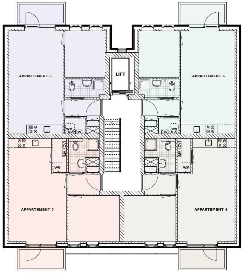 1ste verdieping - Berglaren te Gemert