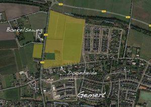 Kavelkaart-Doornheide-Boekelsedijk-Gemert