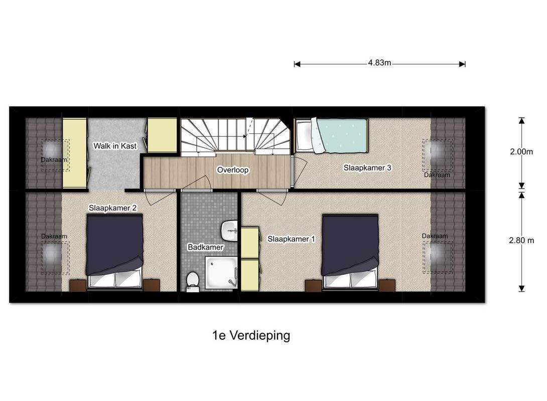 verdieping Doorenbosch 4 Gemert