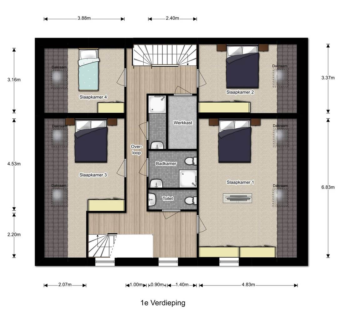 verdieping Doorenbosch 6 Gemert